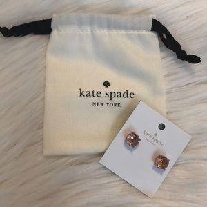 Kate Spade ♠️ Light Peach Gumdrop Studs